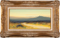 Movie/TV Memorabilia:Original Art, Desert Landscapes with the Sangre de Cristo Mountains by G.Graham (American, 20th Century).... (Total: 2 Items)