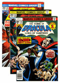 Bronze Age (1970-1979):Horror, Tomb of Dracula Group (Marvel, 1975-79).... (Total: 38 Comic Books)