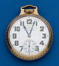 Timepieces:Pocket (post 1900), Hamilton, 992B, 21 Jewels. ...