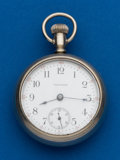 Timepieces:Pocket (post 1900), Waltham, 15 Jewels, Model 83, 18 Size. ...