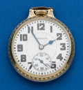 Timepieces:Pocket (post 1900), Hamilton, 992 Elinvar, 21 Jewels. ...