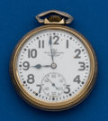 Timepieces:Pocket (post 1900), Ball, 21 Jewels, 16 Size, Official Standard. ...