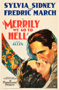 "Movie Posters:Comedy, Merrily We Go to Hell (Paramount, 1932). One Sheet (27"" X 41"")....."