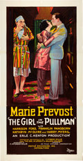 "Movie Posters:Comedy, The Girl in the Pullman (Pathé, 1927). Three Sheet (41"" X 79"")....."
