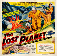 """The Lost Planet (Columbia, 1953). Six Sheet (81"""" X 81"""")"""