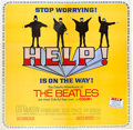 "Movie Posters:Rock and Roll, Help! (United Artists, 1965). Six Sheet (81"" X 81"").. ..."