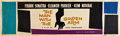 "Movie Posters:Drama, The Man With the Golden Arm (United Artists, 1955). Banner (24"" X82"").. ..."