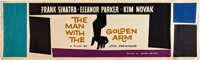 "The Man With the Golden Arm (United Artists, 1955). Banner (24"" X 82"")"