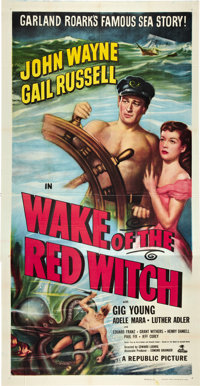 """Wake of the Red Witch (Republic, 1949). Three Sheet (41"""" X 81"""")"""