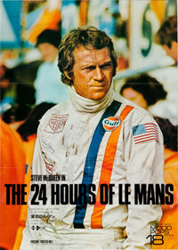 """Le Mans (Towa, 1971). Japanese B1 (2) (40"""" X 29"""") and Japanese B2 (20"""" X 29""""). ... (Total: 3 Items)"""
