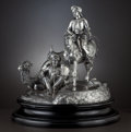 Silver Holloware, British:Holloware, A VICTORIAN SILVER FIGURAL CENTERPIECE. R&S Garrard, London,England, 1851-1852 . Designed by Edmund Cotterill (1795-1860). ...