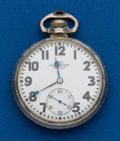 Timepieces:Pocket (post 1900), Ball, 21 Jewels, Official Standard. ...