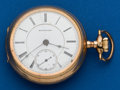 Timepieces:Pocket (post 1900), Rockford, 18 Size, 15 Jewels, Transitional. ...