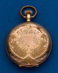 Timepieces:Pocket (post 1900), Waltham, 6 Size, Gold Filled, Hunters Case. ...