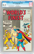 Silver Age (1956-1969):Superhero, World's Finest Comics #106 (DC, 1959) CGC VF+ 8.5 Off-white pages....