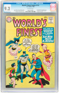 Silver Age (1956-1969):Superhero, World's Finest Comics #113 (DC, 1960) CGC NM- 9.2 Off-white pages....