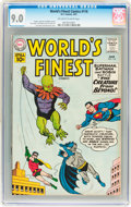 Silver Age (1956-1969):Superhero, World's Finest Comics #116 (DC, 1961) CGC VF/NM 9.0 Off-white to white pages....