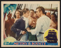"Movie Posters:Adventure, Mutiny on the Bounty (MGM, 1935). Lobby Card (11"" X 14"").Adventure.. ..."