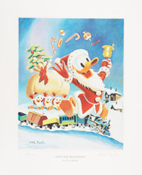 Carl Barks Gifts For Shacktown Regular Edition Miniature Lithograph, #144/595 (Another Rainbow, 1991).... (Total: 2 Item...