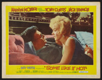 """Some Like It Hot (United Artists, 1959). Lobby Card (11"""" X 14""""). Comedy"""
