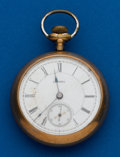 Timepieces:Pocket (post 1900), Aurora, Gold Filled,11 Jewels, 18 Size. ...
