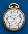 Timepieces:Pocket (post 1900), Illinois 21 Jewels, Bunn Special, 16 Size. ...