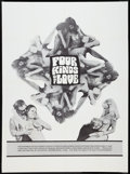 Movie Posters:Sexploitation, Four Kinds of Love Lot (BIP, 1968). Posters (2) (Multiple Sizes).Sexploitation.. ... (Total: 2 Items)