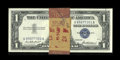 Small Size:Silver Certificates, Fr. 1619 $1 1957 Silver Certificates. Original Pack of 100. Gem Crisp Uncirculated.. ... (Total: 100 notes)