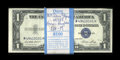 Small Size:Silver Certificates, Fr. 1614 $1 1935E Silver Certificates. Original Pack of 100. Very Choice Crisp Uncirculated.. ... (Total: 100 notes)
