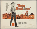 "Movie Posters:Bad Girl, Born Reckless (Warner Brothers, 1959). Half Sheet (22"" X 28""). BadGirl.. ..."