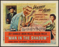 "Movie Posters:Drama, Man in the Shadow (Universal International, 1958). Half Sheet (22"" X 28""). Drama.. ..."