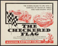 """Movie Posters:Sports, The Checkered Flag (Motion Picture Investors, 1963). Half Sheet (22"""" X 28""""). Sports.. ..."""