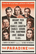 "Movie Posters:Hitchcock, The Paradine Case (Selznick, 1948). One Sheet (27"" X 41"") Style A.Hitchcock.. ..."