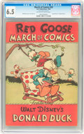 Golden Age (1938-1955):Cartoon Character, March of Comics #20 Donald Duck (K. K. Publications, Inc., 1948) CGC FN+ 6.5 Off-white to white pages....