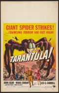 "Movie Posters:Science Fiction, Tarantula (Universal International, 1955). Window Card (14"" X 22"").Science Fiction.. ..."
