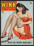 """Movie Posters:Sexploitation, Wink Magazine featuring Bettie Page (Wink Inc, 1952). Magazine(8.5"""" X 11.5"""", 52 Pages). Sexploitation.. ..."""