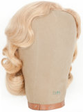 Movie/TV Memorabilia:Costumes, Ann Francis' Forbidden Planet Screen-Worn Wig.... (Total: 2Items)