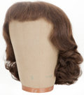 Movie/TV Memorabilia:Costumes, Joan Crawford Costume Wig.... (Total: 2 Items)