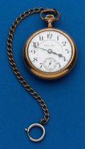 Timepieces:Pocket (post 1900), Hamilton, 21 Jewels, Grade 940. ...