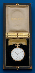 Timepieces:Pocket (post 1900), Howard, 14k, 12 Size With Original Box. ...