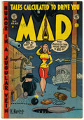 Golden Age (1938-1955):Humor, Mad #4 (EC, 1953) Condition: VG+....