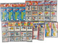 Baseball Cards:Other, 1981 through 1985 Topps and Fleer Rack Packs with Many Stars on Top(18). ...