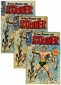 The Sub-Mariner #1 Group (Marvel, 1968).... (Total: 3 Comic Books)