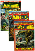Bronze Age (1970-1979):Horror, Man-Thing Related Group (Marvel, 1972-75) Condition: AverageVG/FN.... (Total: 27 Comic Books)