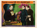 "Movie Posters:Horror, The Mysterious Dr. Fu Manchu (Paramount, 1929). Lobby Card (11"" X14"").. ..."