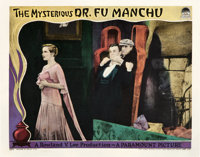 """The Mysterious Dr. Fu Manchu (Paramount, 1929). Lobby Cards (3) (11"""" X 14""""). ... (Total: 3 Items)"""