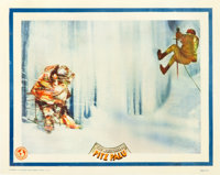 """The White Hell of Pitz Palu (Universal, 1929). Lobby Cards (2) (11"""" X 14""""). ... (Total: 2 Items)"""