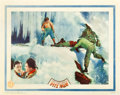 "Movie Posters:Adventure, The White Hell of Pitz Palu (Universal, 1930). Lobby Card (11"" X14"").. ..."