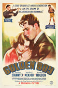 "Movie Posters:Drama, Golden Boy (Columbia, 1939). One Sheet (27"" X 41"").. ..."