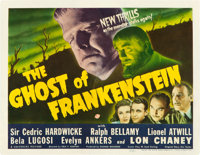 "The Ghost of Frankenstein (Universal, 1942). Title Lobby Card (11"" X 14"")"